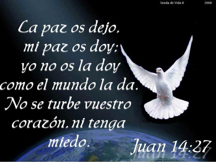 Resultado de imagen para Juan 14,27
