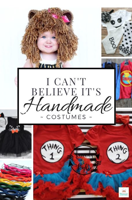 I can't Believe it's Handmade! Halloween costumes for kids toddlers and babies…