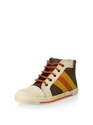 57% OFF Hoo Kid's Ralph's High-Top (Brown)