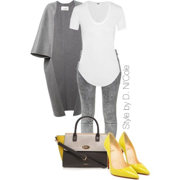 A fashion look from January 2015 featuring Helmut Lang t-shirts, Valentino coats and Zara jeans. Browse and shop related looks.