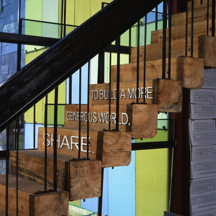 Barn Beam Stair Treads