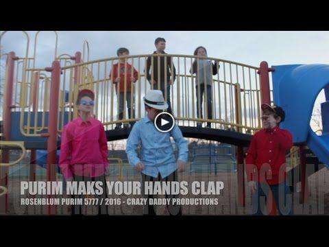 """Purim Makes Your Hands Clap"" - Rosenblum Shaloch-E-Manos - Purim 2017 ~ פורים תשע'ז - YouTube"