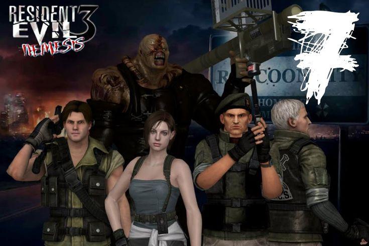 Resident Evil 3. #7: На кладбище черви свищут