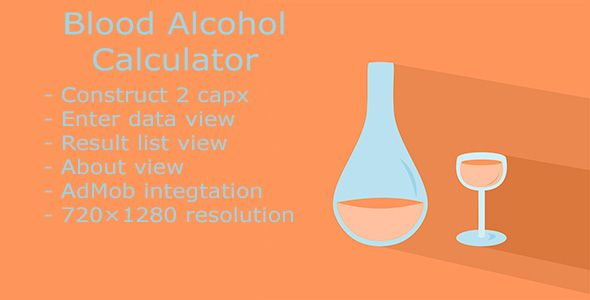nice Blood Alcohol Calculator (Complete Applications)