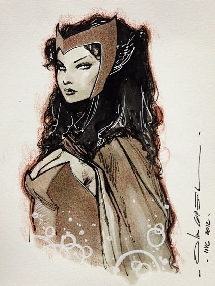 Scarlet Witch by Olivier Coipel