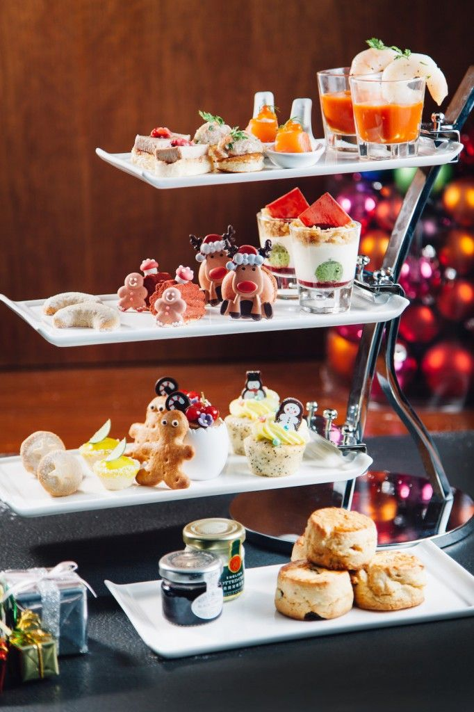 Hotel Icon Christmas Tea HK