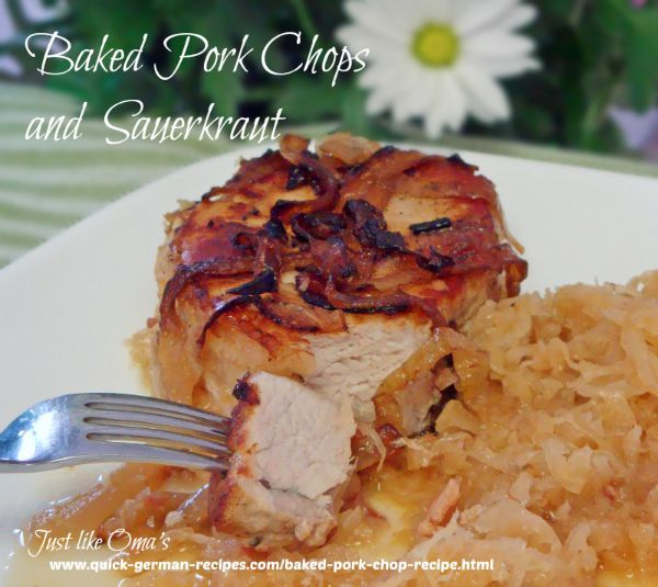 Fast pork and sauerkraut recipe