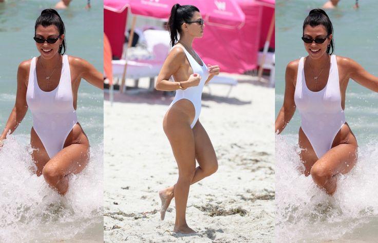 Solo basta invertir $26 para tener el abdomen de Kourtney Kardashian