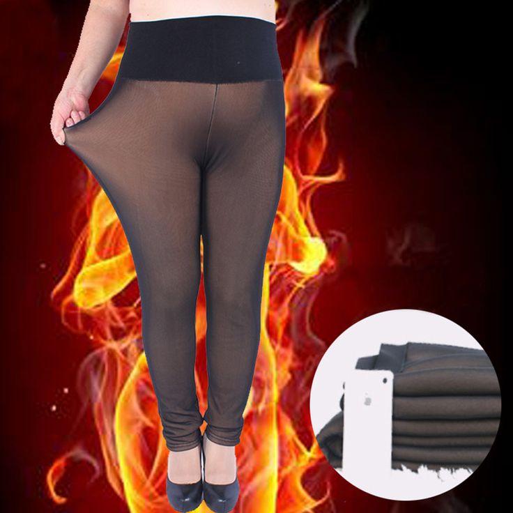 Winter Thick Black Leggings Large size Plus XXL XXXL 5XL Super Elastic Soft Women Pants Warm BRUSHED For Women Legging Largesize