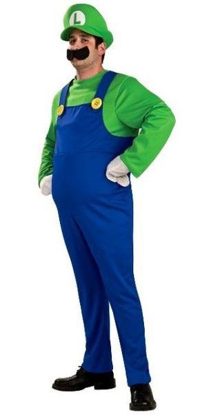 Naamiaisasu; Super Mario Luigi Deluxe asu  Lisensoitu asukokonaisuus, Super Marion hauska veli Luigi. #naamiaismaailma