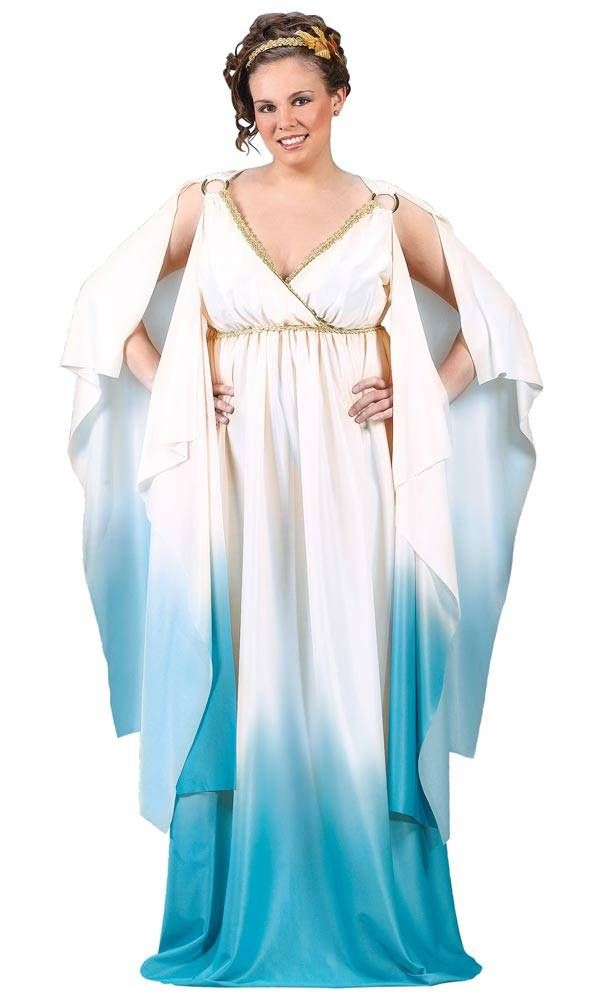 the grecian goddess plus size halloween costumes for women