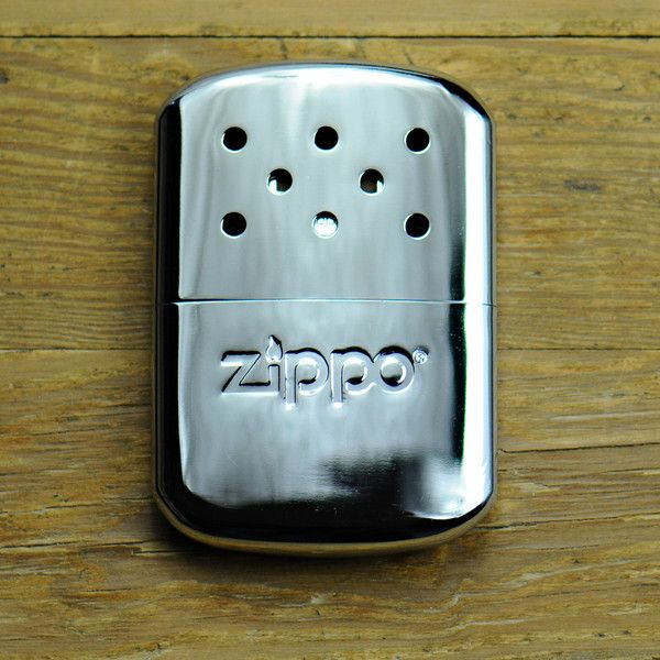 Zippo Hand Warmer  $20.00  When those situations happen, you need to be prepared. The Zippo Hand Warmer is essentially a modified version of the Zippo lighter that slides into its included fleece bag and generates enough heat to keep your precious digits functional. Pop the rugged metal top, fill it with standard Zippo fluid using the filler cap and enjoy up to 12 hours of warmth.