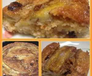 Receita de Torta seca de banana - Show de Receitas - trocar a farinha de trigo por uma sem glúten