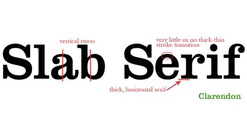 slab typography characteristics - Google Search