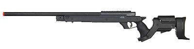 Rifle 62122: Well Type 97 L97 Bolt Action Airsoft Sniper Rifle Black Mb04 Speed Loader Incl -> BUY IT NOW ONLY: $125 on eBay!