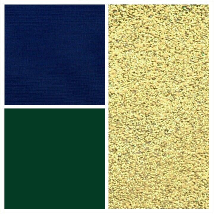 navy blue forest green sparkle gold accent wedding palette 1 - Green And Gold Color Scheme