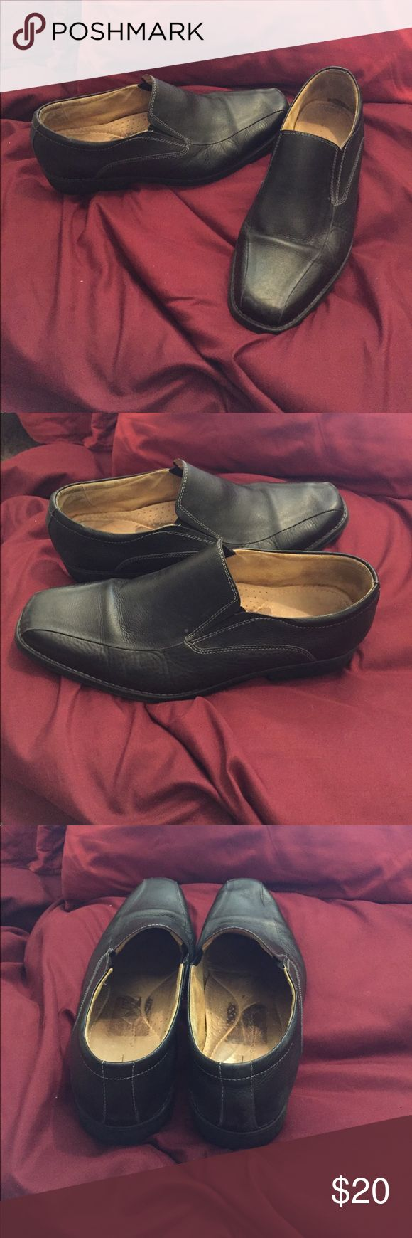 sandro moscoloni soft leather shoes sandro moscoloni soft black leather men's dress up or casual shoes sandro moscoloni Shoes Loafers & Slip-Ons