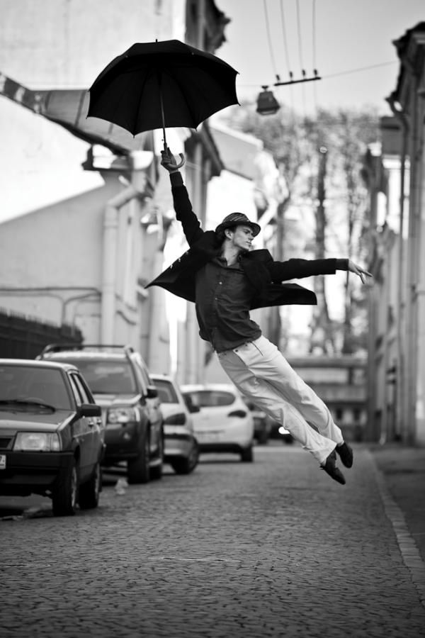 Life is Dandy...: Mary Poppins, Real Life, Dancers, Umbrellas, Black White, Saint Petersburg, Photography, Rain, Gene Kelly