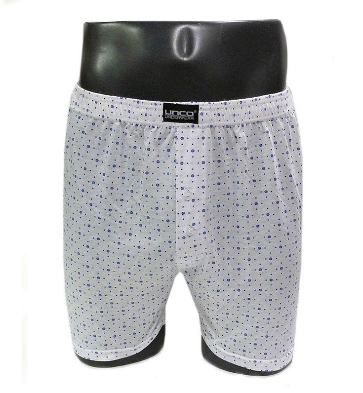 Precio: 3,99 €. + BARATO IMPOSIBLE! Boxer de corte y diseño clásico en punto de algodón, flojo, no ceñido al cuerpo, con pitrina cerrada con dos botones.
