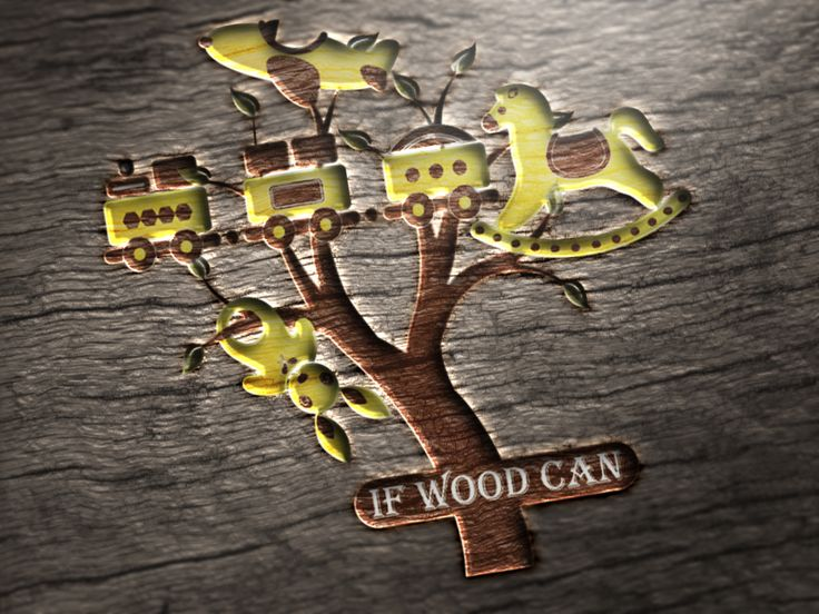Logo Design for If Wood Can