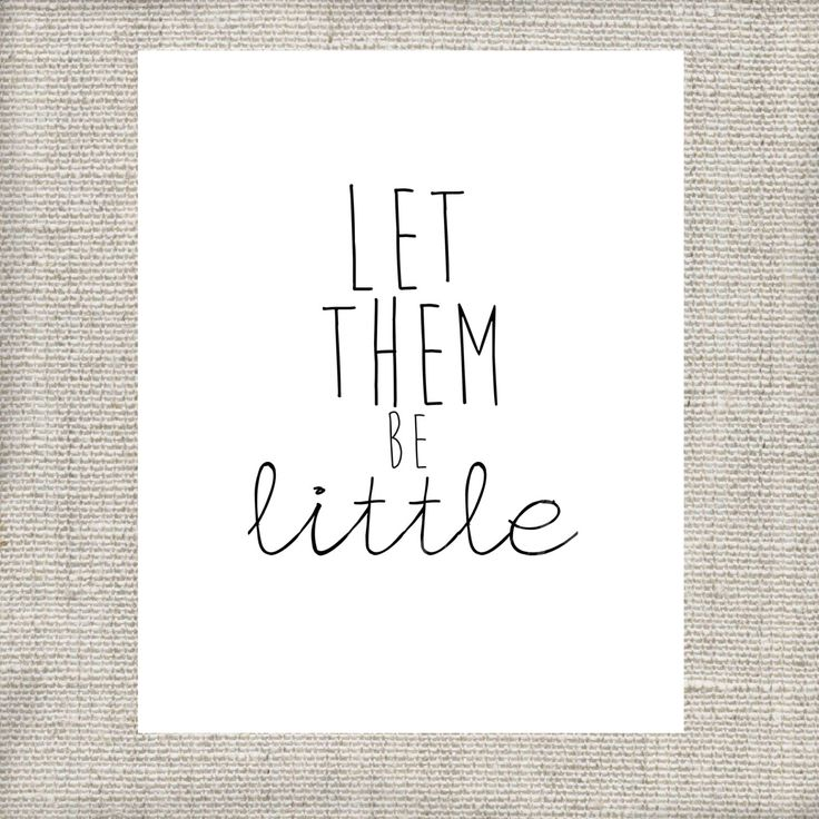 Let Them Be Little - Playroom - Classroom - Nursery - Printable - Instant Download by LoveandPrint on Etsy https://www.etsy.com/listing/190868553/let-them-be-little-playroom-classroom