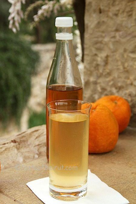 Seville orange syrup (sharab al-busfeyr)