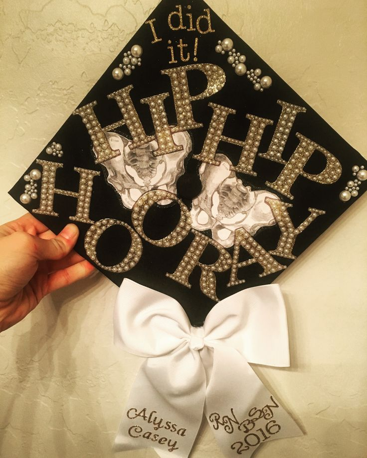 My graduation cap for my nursing degree! Hip hip hooray!