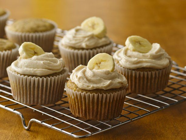 Banana Cupcakes with Browned Butter Frosting (Gluten Free)