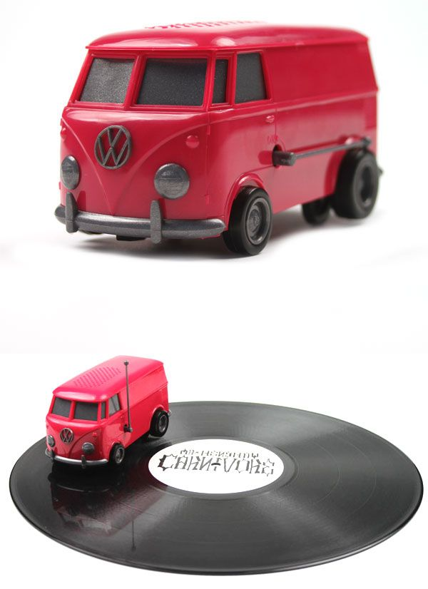 Soundwagon Portable Record Player - MagentaMusic, Portable Records Players, Smallest Portable, Plays Records, Vinyl Records, Portable Vinyls, Vw Bus, Soundwagon Portable, Vinyls Records