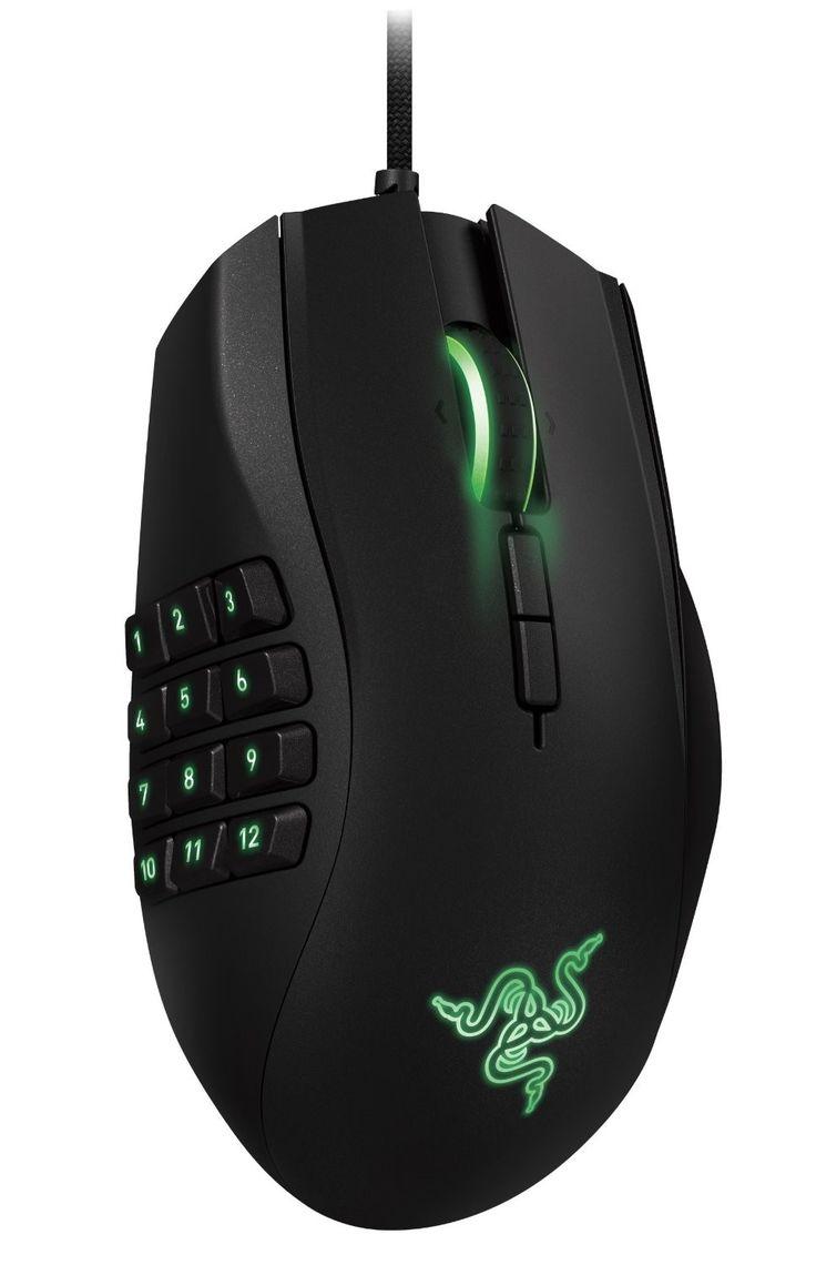 Mouse Razer Naga USB Gamer 8200 dpi  Botones programables Precio $69.990