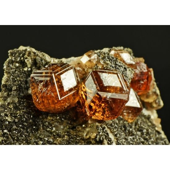 703e3853f Hessonite ~ Jeffrey Mine, Asbestos, Québec, Canada | Stones | Minerals,  Minerals, gemstones, Crystals minerals