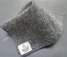 Available now for 8.50 GBP is this Designer Harris Tweed POCKET SQUARE Celebrity wedding gift bestman Groom Kilt