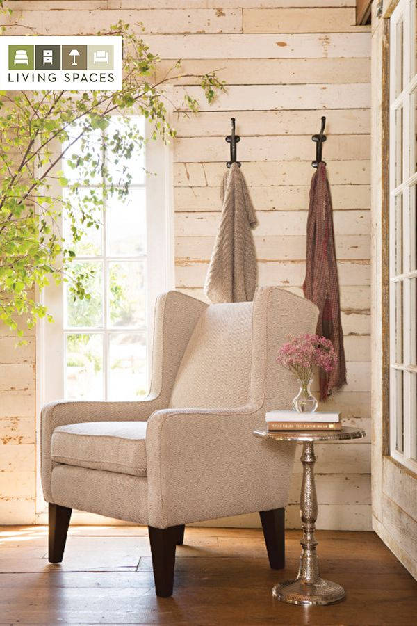 Beautifully timeless the Carolina Wing Chair wanders into modern territory with a subtle geometric