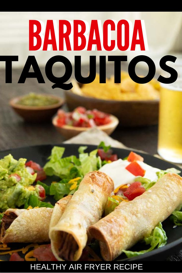 Easy Air Fryer Taquitos in 2020 Homemade taquitos, Easy