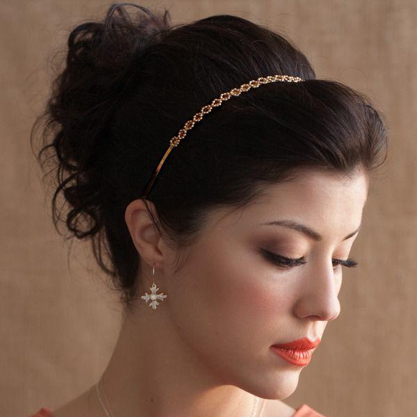 Grecian updo with Alexandra Headband
