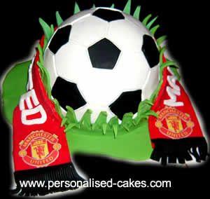 October's Child: Manchester United Birthday Cakes