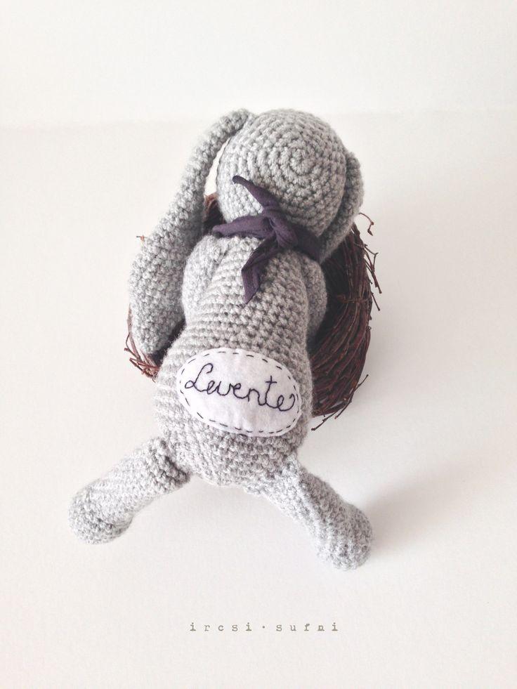Little bunny  #crochet #crochettoy #bunny #toy