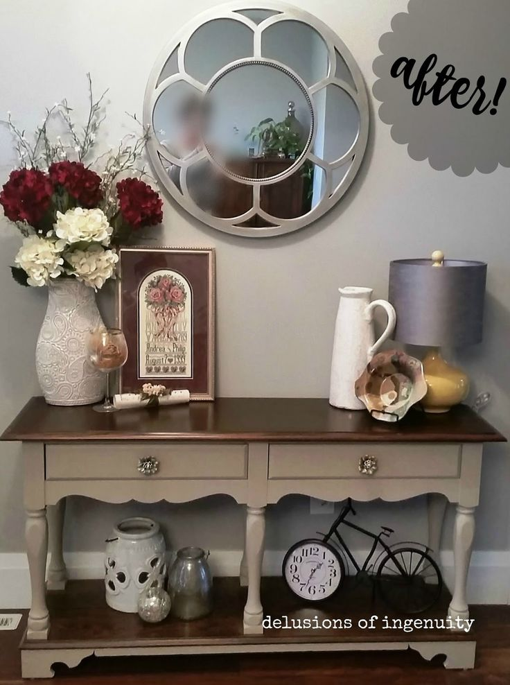 Best Sofa Table Redo Ideas On Pinterest Farmhouse Table
