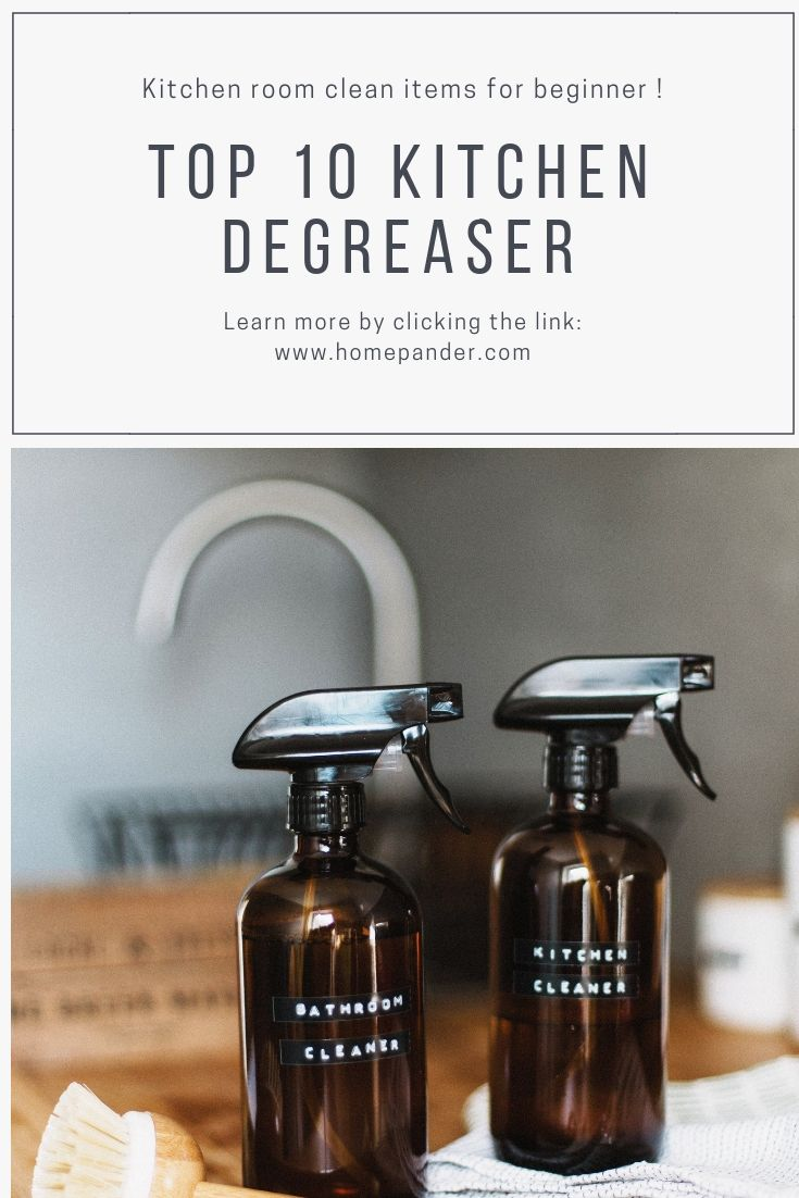 Best Kitchen Degreaser 2019 Reviews And Buyer S Guide Kitchen Degreaser Clean Kitchen Cabinets Cleaning