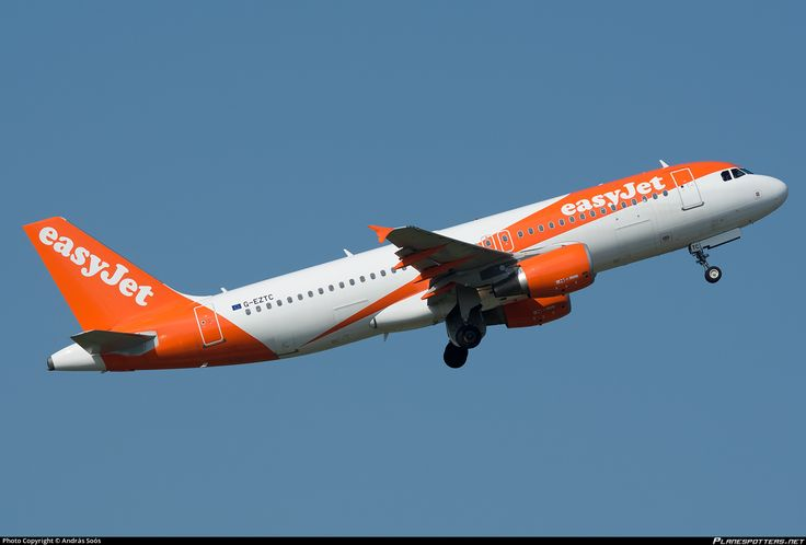 G-EZTC easyJet Airbus A320-214