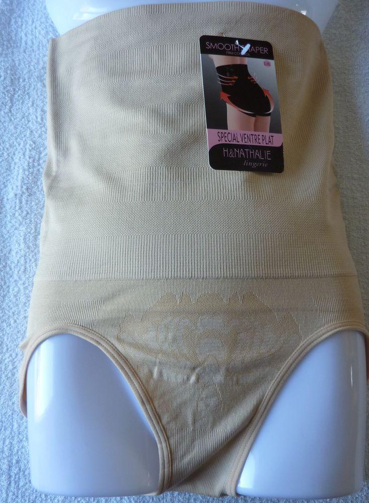 Slip culotte Gaine Ventre plat serre taille minceur femme XL/XXL (42) neuf