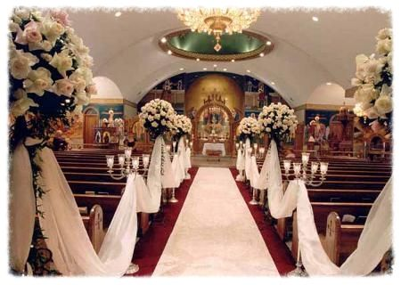 Beautifully decorated church. Something like this but modern.