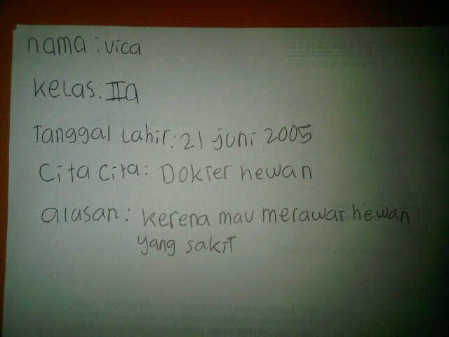 #FutureFactory: Hand Writing by Seraphica Artika Dewantoro