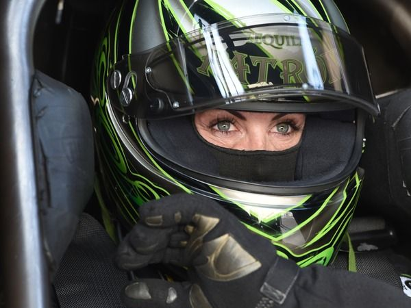 Racecar Driver Alexis DeJoria's Skin Care Routine For A Fast-Paced Life — PHOTOS  That plus being on the road competing leaves skin care and beauty as not luxuries, but necessities to keep some structure of self care. http://www.bustle.com/articles/171331-racecar-driver-alexis-dejorias-skin-care-routine-for-a-fast-paced-life-photos