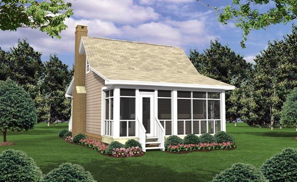 The Outdoorsman House Plan 5348 - 1 Bedroom and 1 Bath | The House Designers