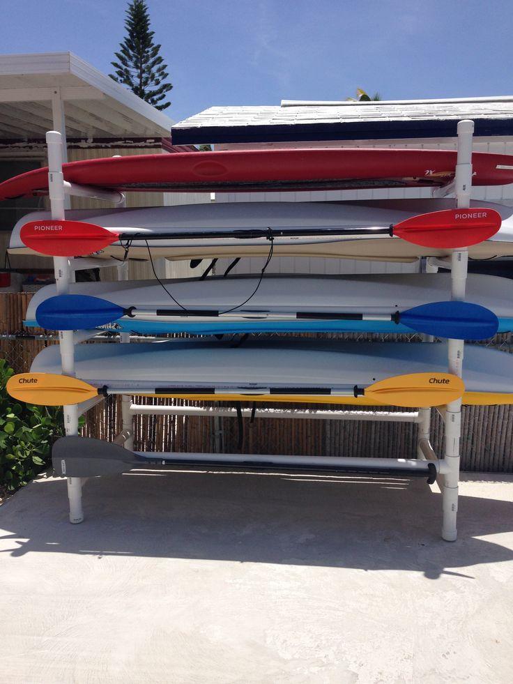 PVC Kayak Stand