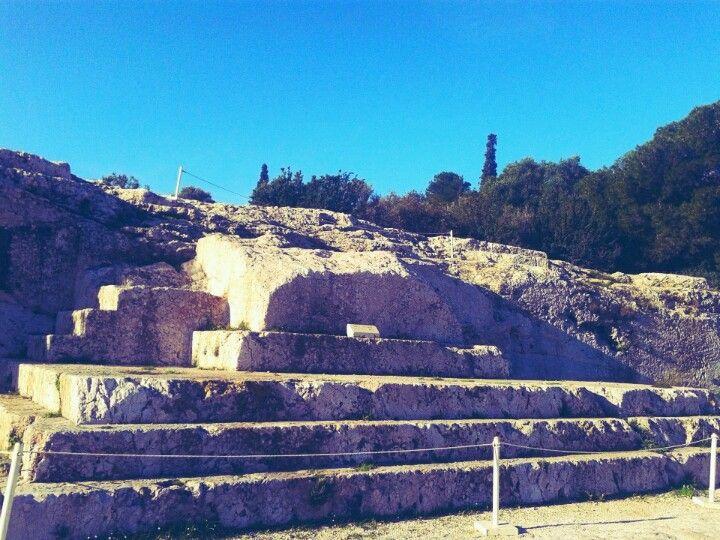 Πνύκα (Pnyx) στην πόλη Αθήνα, Αττική