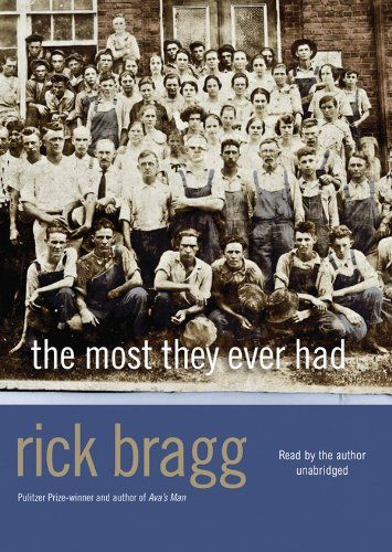 rick brag essay Buy a cheap copy of somebody told me: the newspaper stories book by rick bragg with his bestselling all over but the shoutin', rick bragg gave us memorable stories of his own childhood.