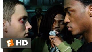 face off in eminem movie - YouTube