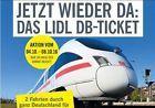 #Ticket  Lidl DB Ticket Deutsche Bahn 2 Freifahrten Deutschland Hin-Rückfahrt ICE IC EC #belgium